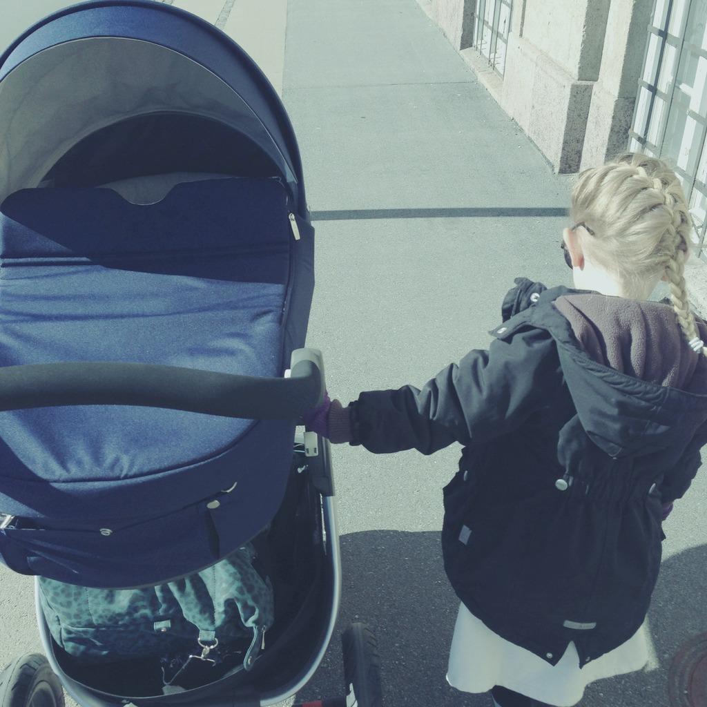 Min Ergobaby strækvikle | Copenhagen Kiddo